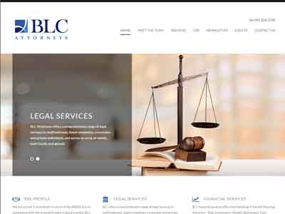 Campbell Attorneys homepage