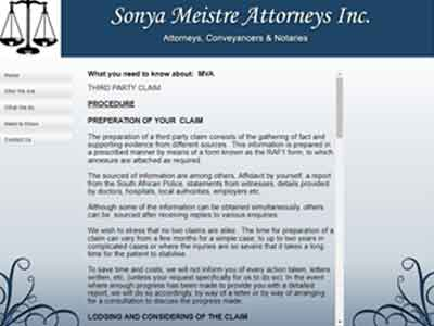 sonya meistre attorneys third-party accident claims